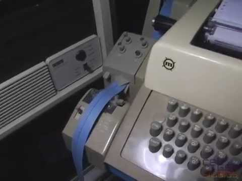 Punching Altair BASIC on a Teletype