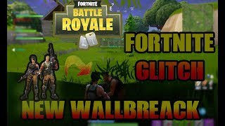 GLITCHES FORTNITE BATTLE ROYALE - NEW WALLBREACH UNDER THE MAP
