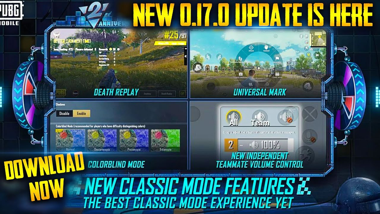 ?PUBG MOBILE 0.17.0 UPDATE DOWNLOAD   PUBG MOBILE 0.17.0 UPDATE NEW FEATURES