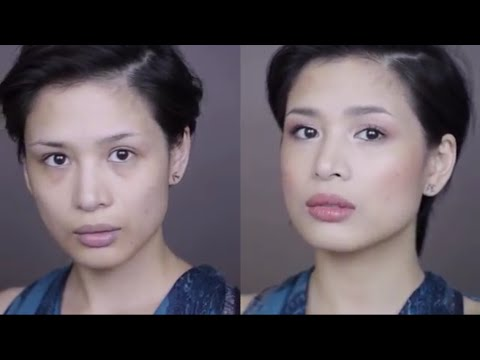 Soft Valentine's Day Makeup ♡♡♡ Shades of Marsala Howto Video Tutorial