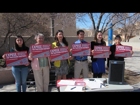 Studen't for Life #UNMbuysBabyParts Rally @ the University of New Mexico