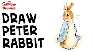 How to draw & paint Peter Rabbit like Beatrix Potter