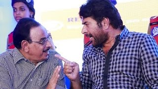 Mammootty for Clean Campus Safe Campus Campaign with Ommen Chandy