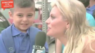 FUNNIEST KIDS OF ALL TIME - News Bloopers