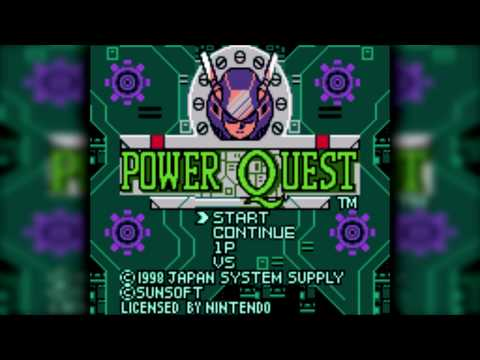 The Best of Retro VGM #885 - Power Quest (Game Boy/Game Boy Color) - Great Sweater