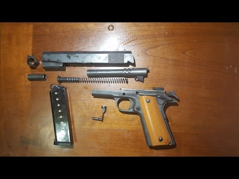 Rock Island M1911 - How to Disassemble/Reassemble for cleaning