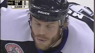Stanley Cup Final Calgary Flames @ Tampa Bay Lightning,  June 7, 2004