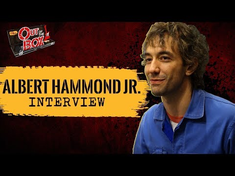 Albert Hammond Jr. Interview and Acoustic Performance