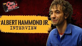 albert hammond jr interview and acoustic performance