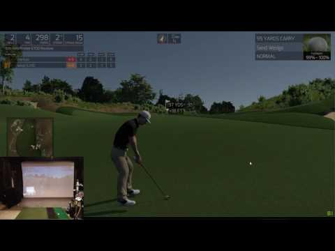 TGC Sim Golf - Erin Hills, US Open - Round 1, Front 9, 77 - 6/12/17