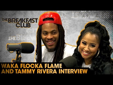 Waka Flocka Flame & Tammy Rivera Interview With The Breakfast Club (7-22-16)