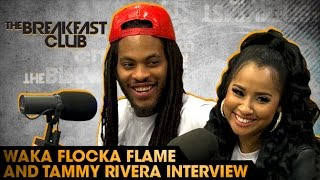 Waka Flocka Flame & Tammy Rivera Interview With The Breakfast Club (7-22-16)
