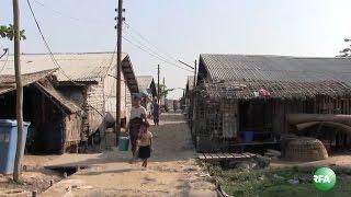Kyaukphyu Refugee Camps in Rakhine State