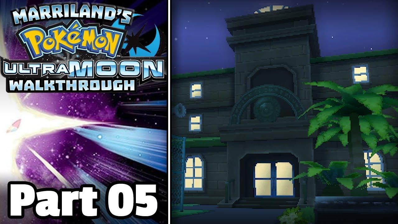 Pokemon Ultra Moon Walkthrough Part 05 Route 1 Trainers School