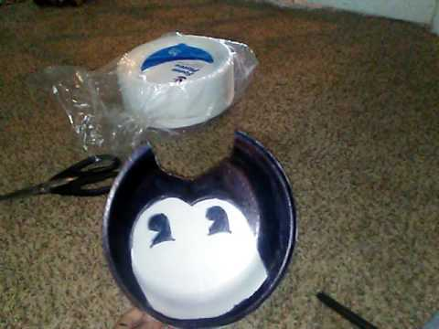 How To Make Bendy Mask And Bowtie Youtube