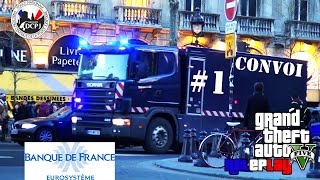 GROUPE DCPJ | CONVOI #1 | TRANSPORT DE FONDS | XBOX ONE | MODE LIBRE | ROLEPLAY GTA 5 ONLINE