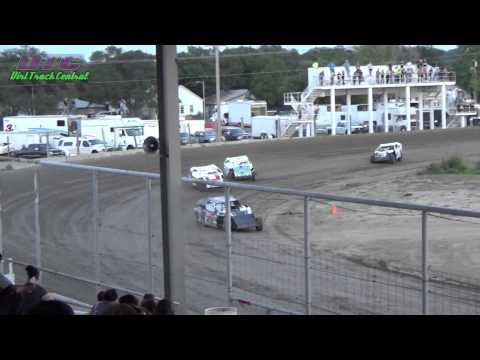 IMCA Modified Heats Thomas County Speedway 8-14-15
