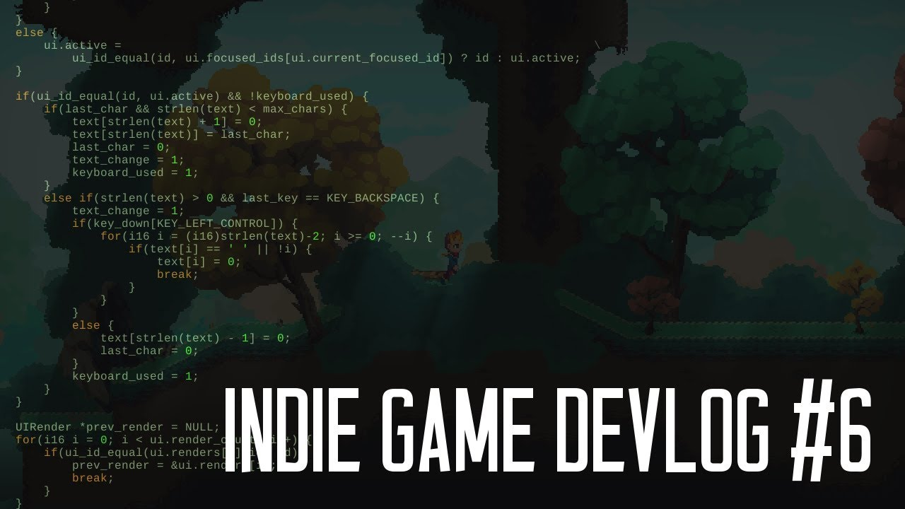 Indie Game Devlog #6 (Under The Hood) - Immediate Mode GUI and Automapping
