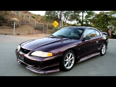 1997 Ford Mustang GT Roush Performance Sidepipes 2 Owner 4.6