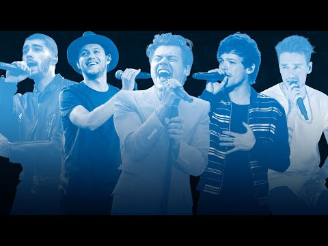 One Direction Solo Careers Megamix Ft. Harry, Zayn, Liam, Niall, Louis