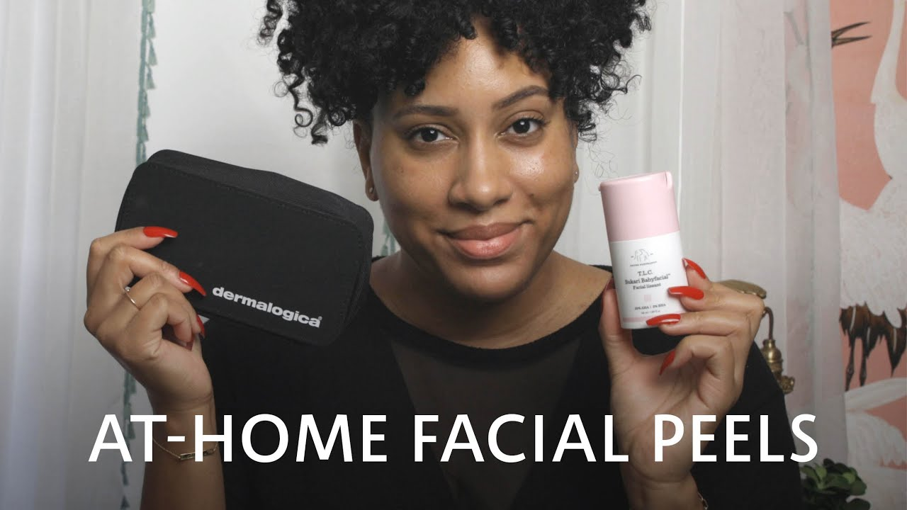 At-Home Facial Peels | #StayHome with Sephora