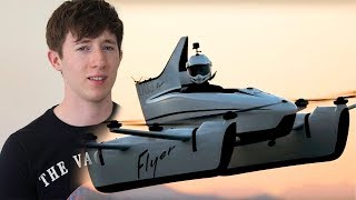 CASEY NEISTAT'S FLYING CAR - Is this the future? - Tomorrow Talk