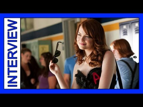 Emma Stone: A Funny Personal Look Into Her Life ( Easy A interview )