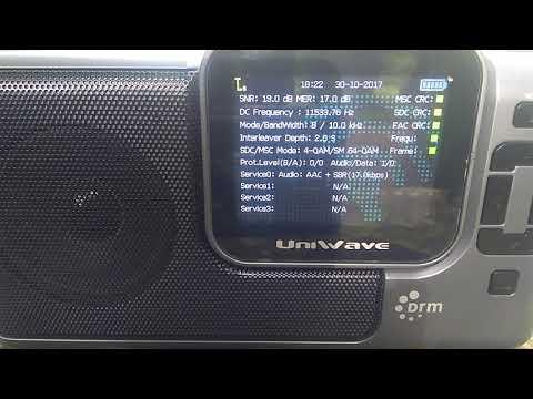 Radio Kuwait 15540 kHz DRM