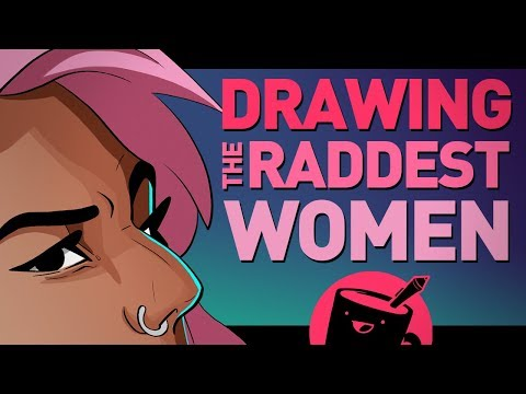 Artists Draw the Raddest Women