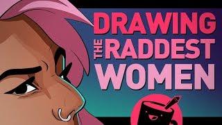 Artists Draw the Raddest Women