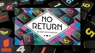 No Return — Fun & Board Games w/ WEM