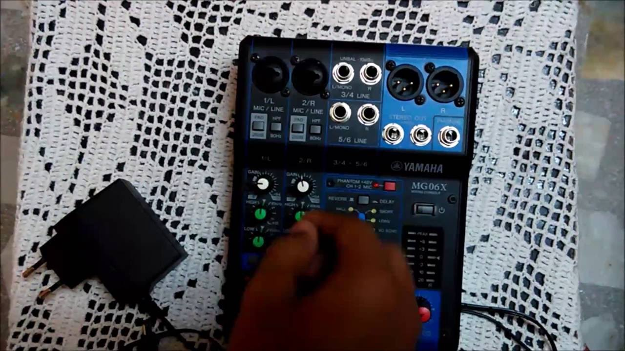 Reliable control of your sound yamaha used its extensive acoustical knowledge and engineering skills in offering you their mg06x mixer. This 6-channel mixer.