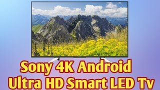 SONY KD-49X7500F Android (49 inch) Ultra HD (4K) LED Smart TV