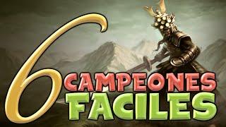 TOP 6 CAMPEONES FÁCILES ( League of Legends ) Según Jacky
