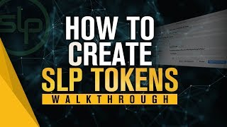 Tutorial How to create a new Bitcoin Cash SLP Token - by Roger Ver