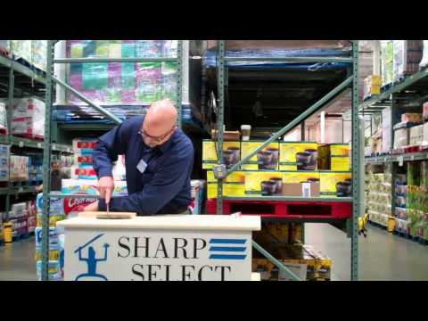Bob Olsen Doing Sharp Select Demo