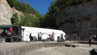 平成28年8月28日 札幌石山緑地ネガティブマウンド石の広場野外ステージ ...