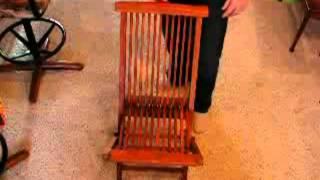 Teak Folding Chair.avi