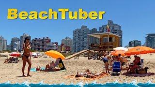 4K VIDEO BEACH WALK Brava Punta del Este URUGUAY UY vlog HDR