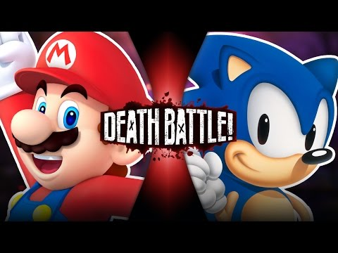 Mario VS Sonic | DEATH BATTLE! | ScrewAttack!
