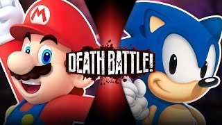 Mario VS Sonic | DEATH BATTLE! | ScrewAttack! thumbnail
