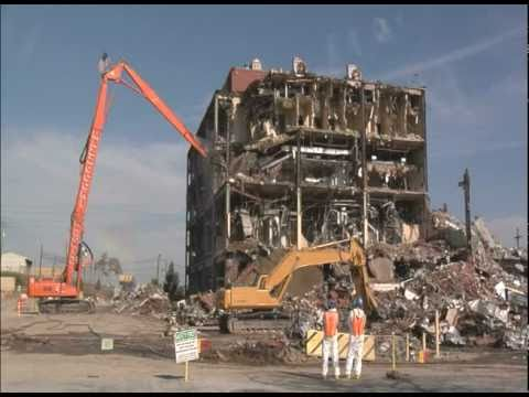 Final Recovery Act-Funded Demolition Underway at Y-12