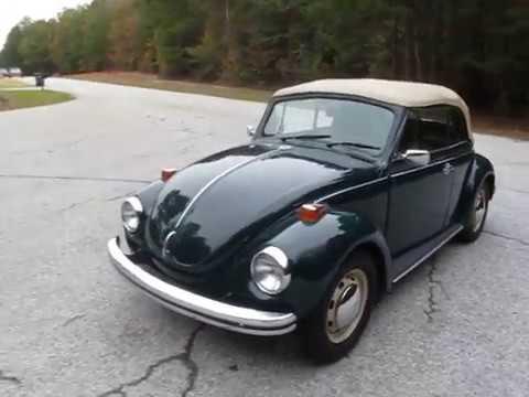 1972 VW Beetle Convertible