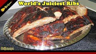 Brijan Juiciest BBQ Ribs on the Internet! Oven BBQ Ribs - Spare Ribs