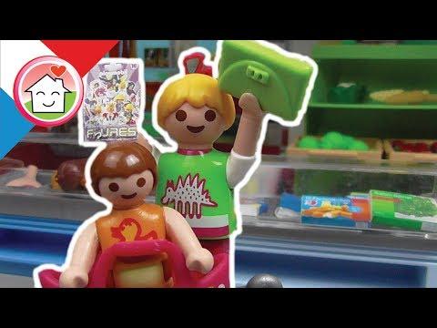 Playmobil en français Au centre commercial - La famille Hauser - film pour enfants