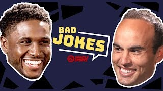Reggie Bush vs. Landon Donovan & MORE! | Bad Joke Telling