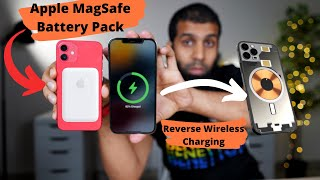 MagSafe Battery Pack for iPhone unlocks iPhone 12 reverse wireless charging