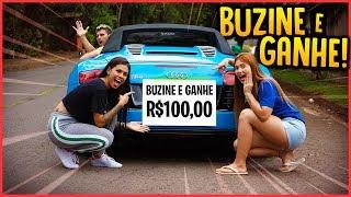 ELAS COLARAM NO MEU CARRO BUZINE E GANHE 100 R$!! - TROLLANDO REZENDE [ REZENDE EVIL ]