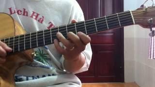 Học solo guitar - Bài tập kỹ thuật quét dây sweep picking trên 2 dây [HocDanGhiTa.Net]