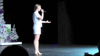 Lauren Sings White Christmas At Candy Cane Cabaret